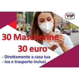MASCHERINA FFP2 COVID-19, 30 PEZZI