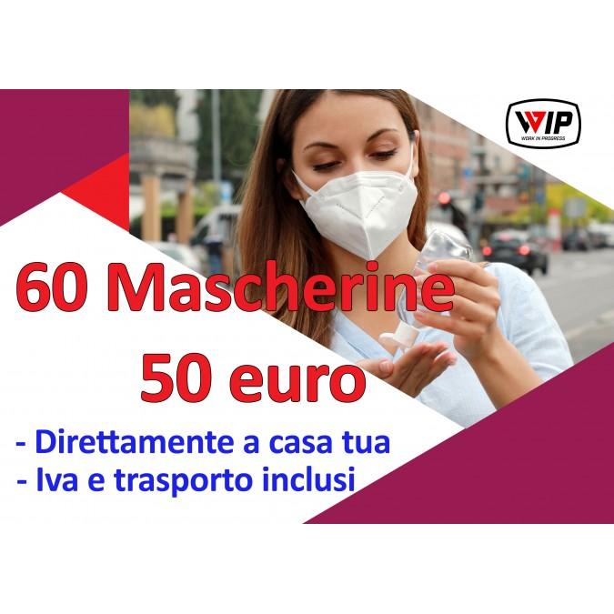 MASCHERINA FFP2 COVID-19, 60 PEZZI
