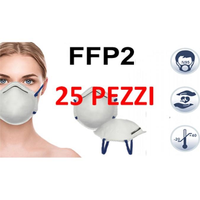Mascherina 25 Pezzi